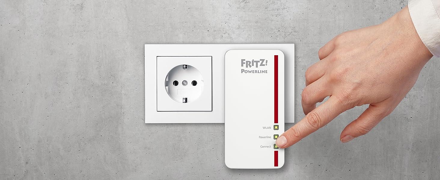 FRITZ!Powerline 1260E Set