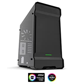 Phanteks Enthoo Evolv ATX Computer Case - Tempered Glass Edition, Anthracite Grey PH-ES515ETG_AG