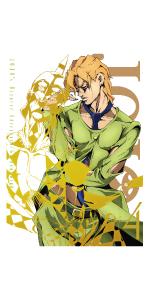 【Amazon.co.jp限定】ジョジョの奇妙な冒険 黄金の風 Vol.4 (13~16話/初回仕様版) (オリジナル手ぬぐい付) [DVD]