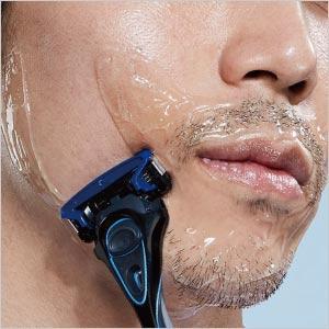 敏感肌 ハイドロ シック Schick カミソリ 髭剃り シェーバー 5枚刃 潤い スキンガード 男性 メンズ ヒアルロン酸 ジェル フェイシャルケア スキンケア プレミアム