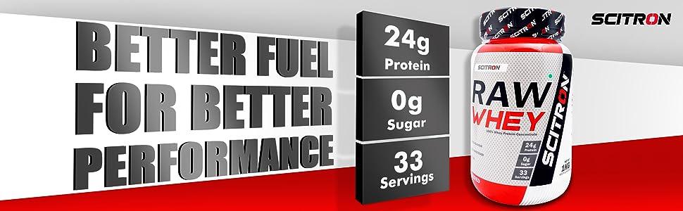 scitron, whey protein, unflavoured protein powder, protein supplement