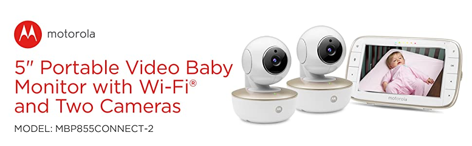 motorola 5 inch video baby monitor with wifi mbp845connect. motorola mbp855connect-2 portable 5-inch screen video baby monitor 5 inch with wifi mbp845connect t