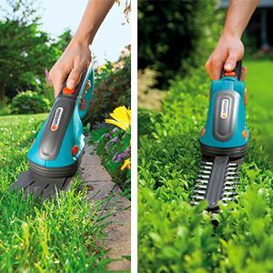 Gardena Tijeras para arbustos con batería ComfortCut Tijeras para ...