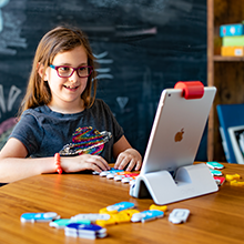 Osmo builds a childs education believing in themselves having fun imagination sparks learning fun