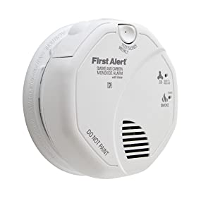 First Alert SC7010B Hardwired Photoelectric Smoke and Carbon Monoxide Alarm