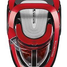 Rowenta Silence Force Cyclonic RO7649 - Aspiradora sin bolsa para parqué, con cabezal Power Air, deslizamiento óptimo, ergonómica, depósito de suciedad de 2.5 l: Amazon.es: Hogar