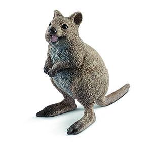 quokka, smiling quokka, quokka figurine, schleich quokka, schleich animals, aussie animals, toys,