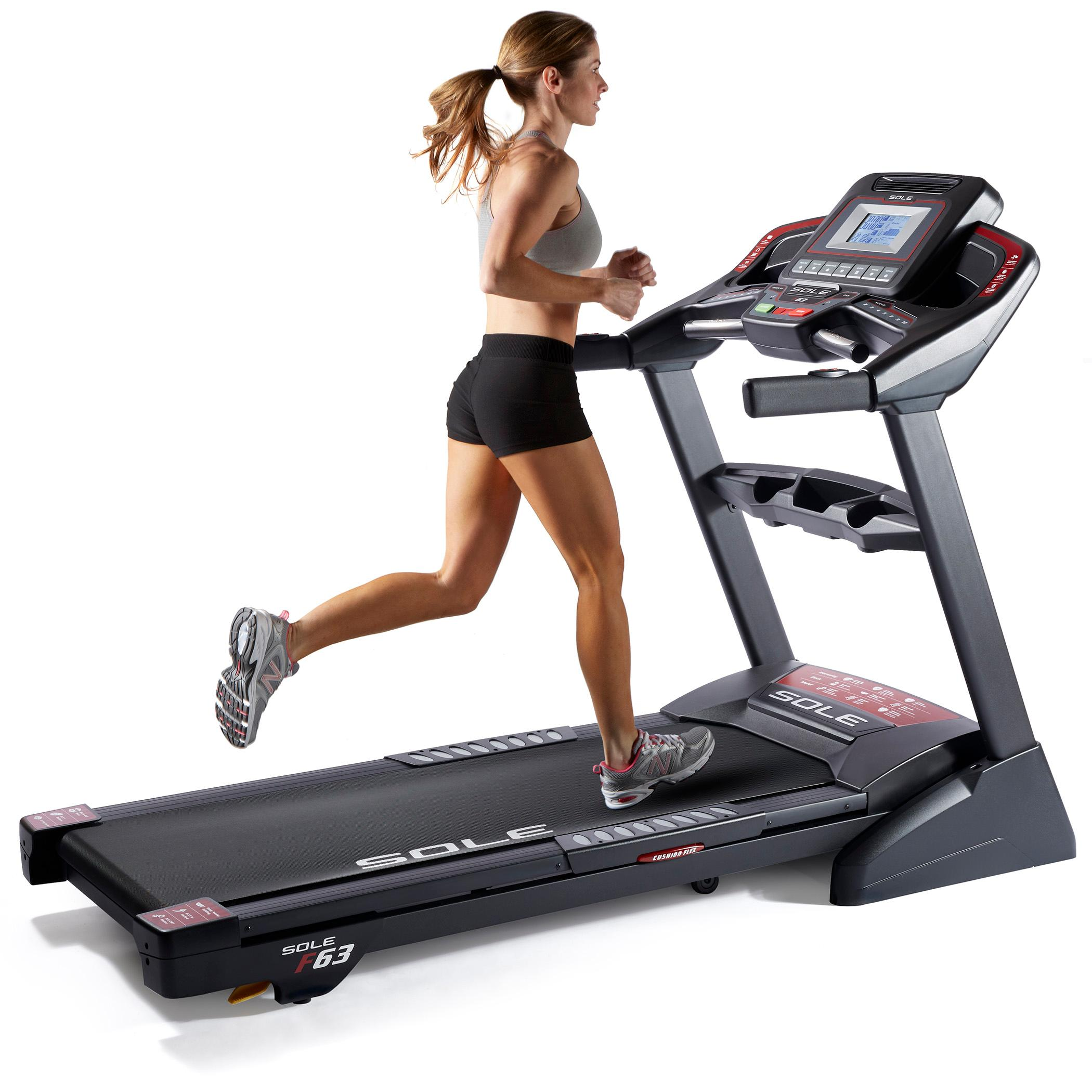 Top Exercise Equipment: SOLE Fitness F63 Folding Treadmill Machine