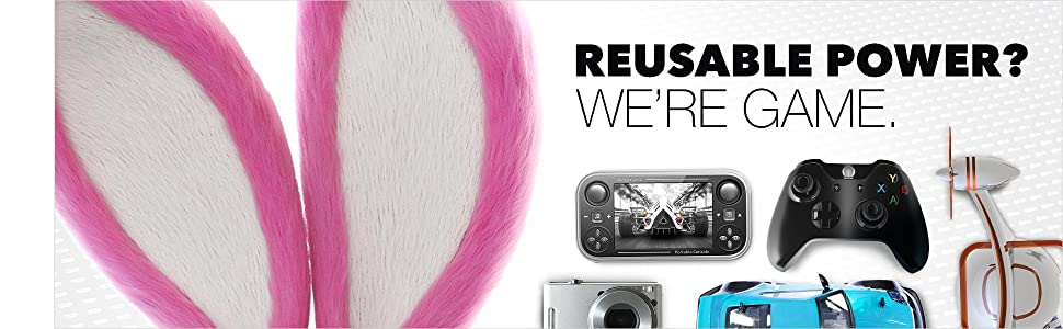Energizer, Recharge, Power Plus, PowerPlus, Reusable, Gaming, Games, Controllers, AA, AAA, Cell