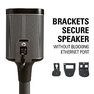 Amazon Com Sanus Wireless Speaker Stand Designed For