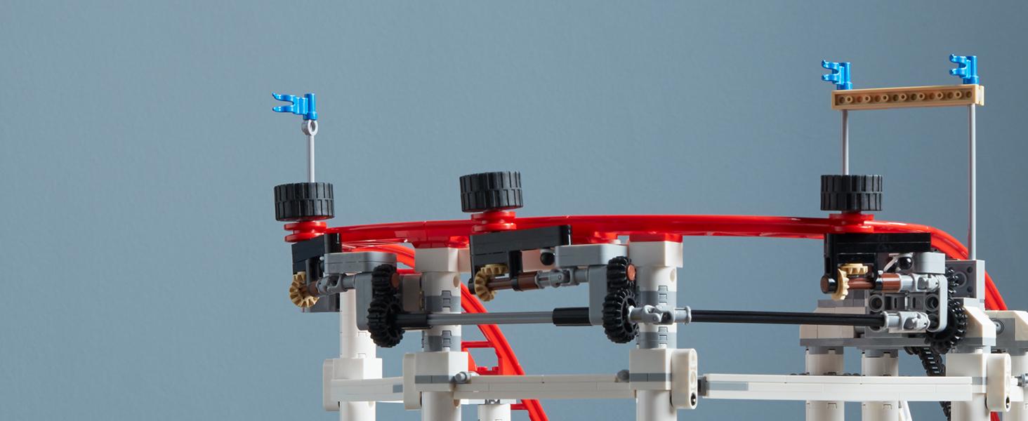 LEGO Creator Expert-Montaña rusa, juguete de construcción de ...