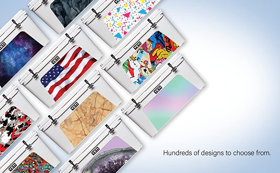 Choose from Hundreds of designs