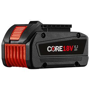Amazon.com: Bosch GBA18V63 CORE18V - Batería de ion de litio ...