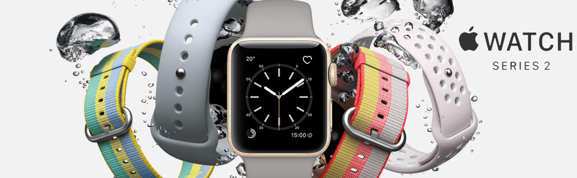 Apple Watch Series 2 38mm Smartwatch Gold Aluminum Case 1 Rose Pink Sport Band Concrete Sports 42mm