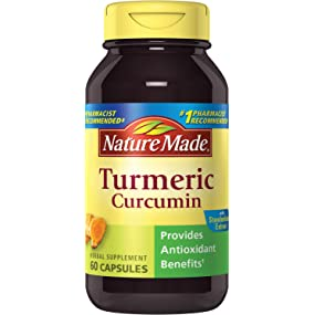 Nature Made Turmeric, 47.5 mg