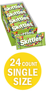 SKITTLES Sour Candy Singles Size