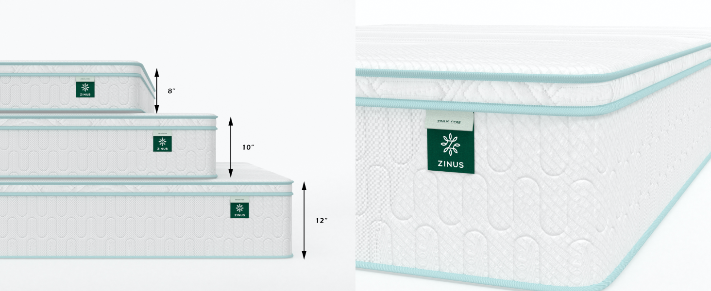 mattress heights