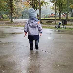 baby kids girls boys rain jacket coat