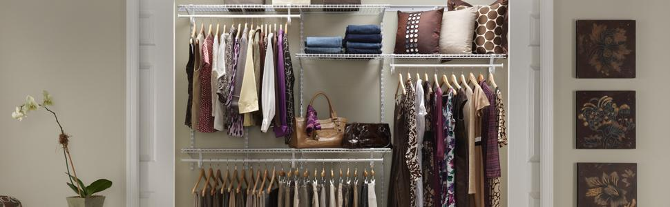 ShelfTrack Adjustable Closet Organizers