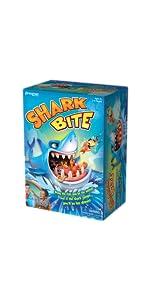 shark, bite, fish, game