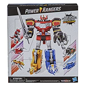 pwr rangers, the toys that made us, first megazord, original power rangers, Hasbro power rangers