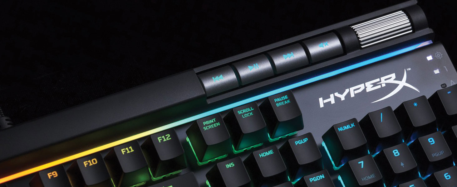 Unique light bar and dynamic RGB lighting effects