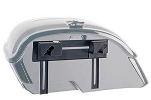 Customacces AMZ001N Alforjas R/ígidas Voyager Model ARS001N con Soportes Universales KF0002N /Única Negro