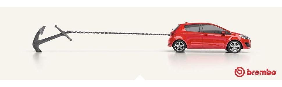 Brembo 09 5843 34 Bremsscheibe Paar Auto