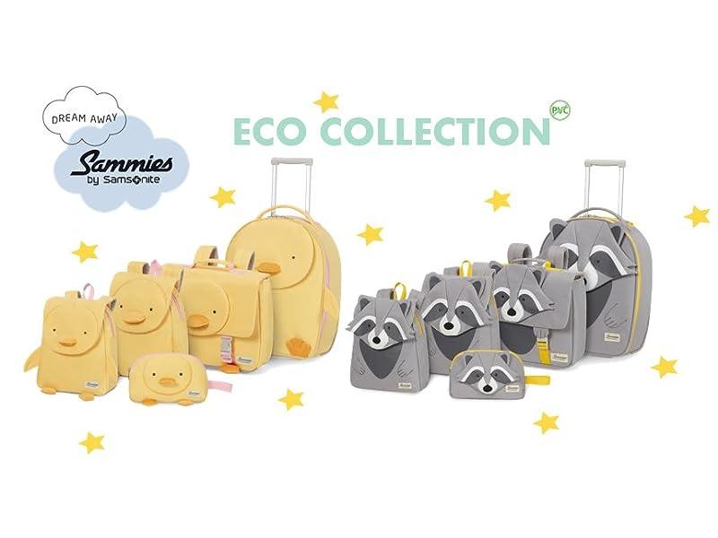 happy sammies eco; samsonite kids; kids backpack; kids luggage; kids suitcase; trolley; backpack