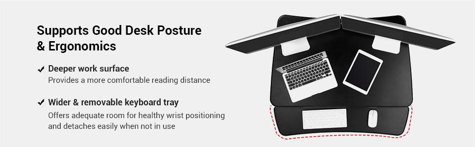 Amazon Com Flexispot M2b Standing Desk 35 Quot Wide