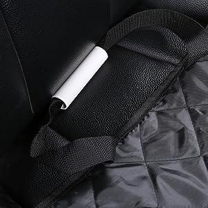 Alfheim Sitzbezug des Autos f/ür Haustier verschlei/ßfester Bezug des Hintersitzes f/ür Haustier