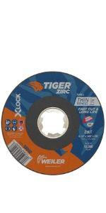 Tiger Zirc Cutting Wheels for Bosch Grinders