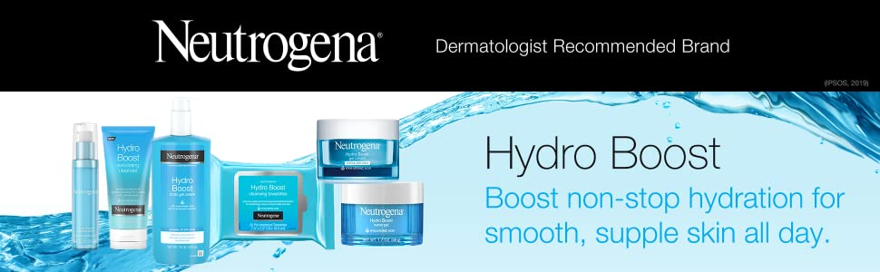 Neutrogena Hydro Boost Hydrating Product Line