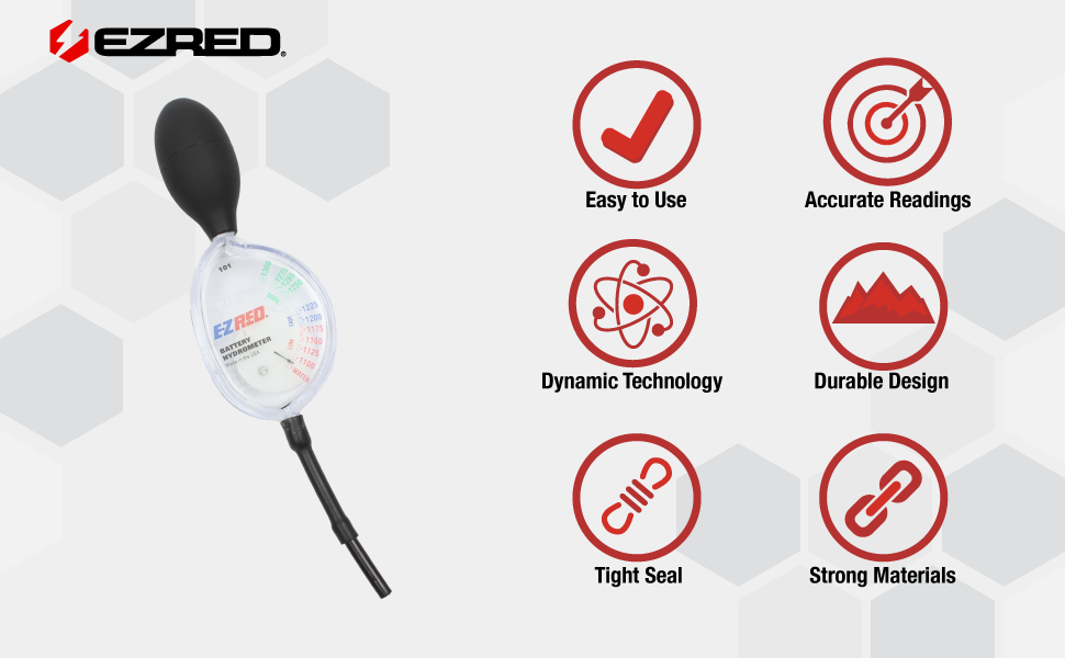 EZ-Red SP101 Battery Hydrometer