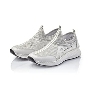 Rieker Damen Sneaker N5654, Frauen Slip On Sneaker: Amazon fqePY