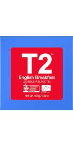 t2 organic english breakfast tea