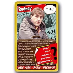 only fools and horses, card game, game, top trumps, family game, travel game, monopoly board game