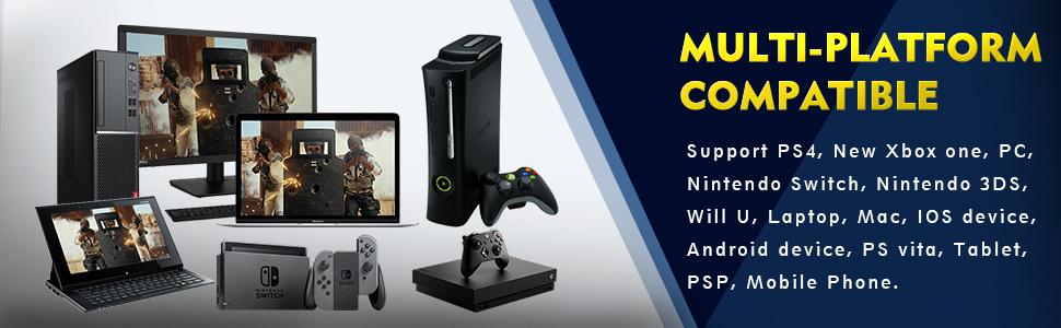 ONIKUMA II Gaming Headset for PS4, Xbox One, PC, Nintendo