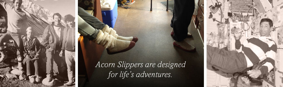 acorn, acorn slippers, slippers, women's slippers, slouch boot, house slippers, cozy slippers
