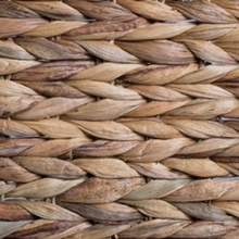 Natural Bone Shape Hyacinth Basket for Pets from Bone Dry