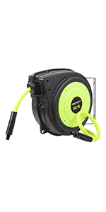 flexzilla retractable air hose reel