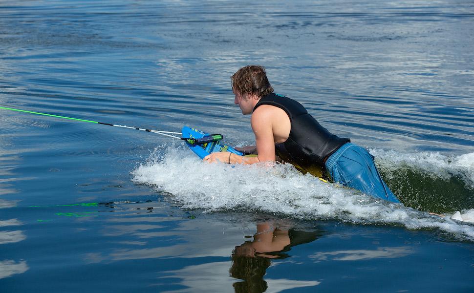Hydroslide, hydrohook, kneeboard, watersports,