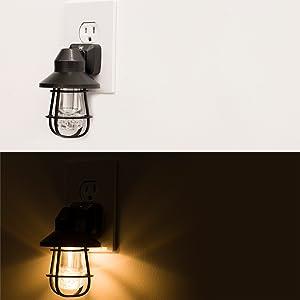 Light Sensing LED Night Light