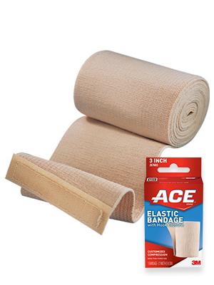Amazon Com Ace 6 Elastic Bandage With Clips Beige Health