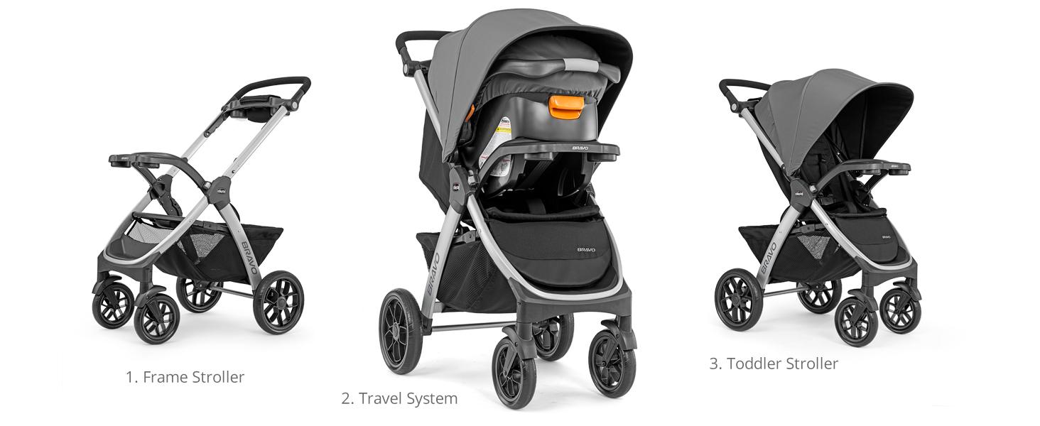 Bravo Trio Travel System