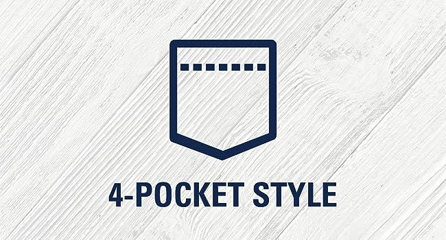 4 Pocket Style