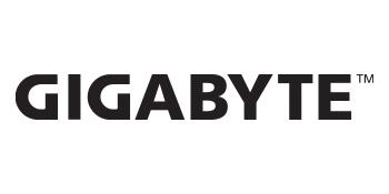 GIGABYTE, black, logo