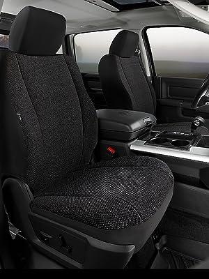 Fia TRS49-37 BLACK TRS40 Solid Wrangler Solid Black Seat Cover Front Split Seat 40//20//40//Saddle Blanket