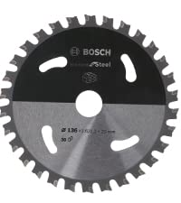 bosch professional, Standard for steel, Stål, cirkelsågklinga, sladdlös cirkelsåg