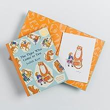 Tiger, Special, Edition, Anniversary, Celebrate, Tea, Children's Books